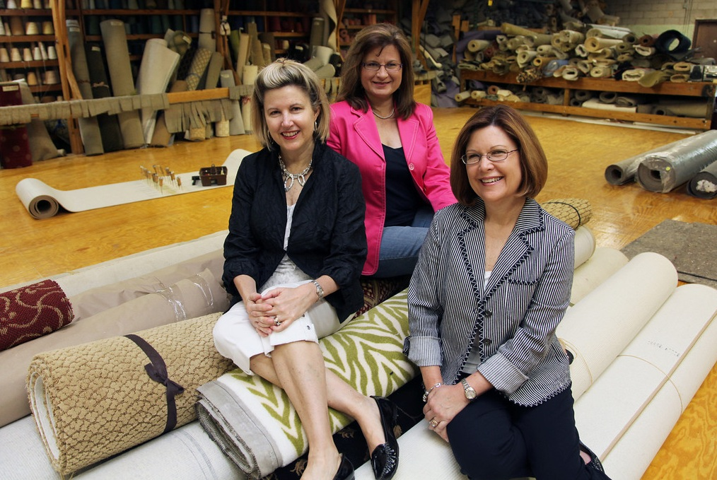 Becky, Pamela & Debbie - Owners of McAbee's Custom Carpet