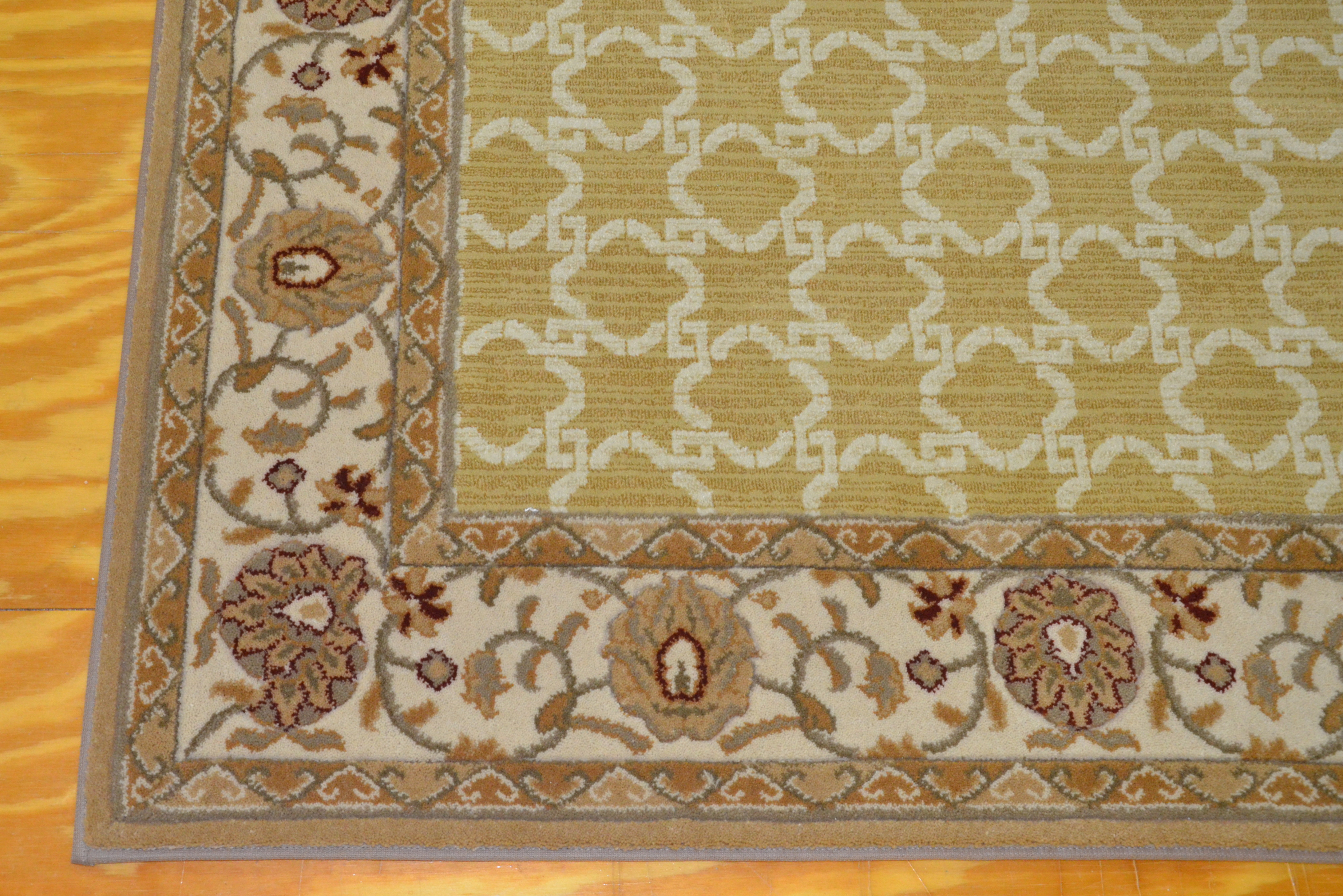 Rug with custom border 02